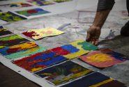 Amerikāņu mākslinieces meistardarbnīca Rotko centrā 17