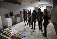 Amerikāņu mākslinieces meistardarbnīca Rotko centrā 18
