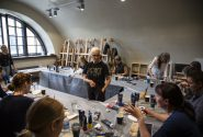 Master class by American artist at the Rothko Centre 19