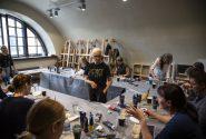 Amerikāņu mākslinieces meistardarbnīca Rotko centrā 19