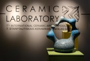 Opening of an international ceramic art symposium exhibition 20