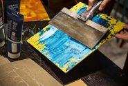 Workshop by artist James Kendall Higgins 10