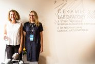 "Ceramic art symposium ""Ceramic Labaratory"" exhibition opening 18"