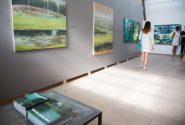 Открытие выставки международного пленера «Валдис Буш 2017» 15