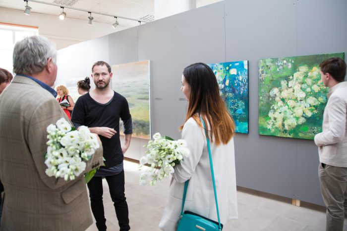 "Opening of the International Plein Air ""Valdis Bušs 2017"" exhibition"