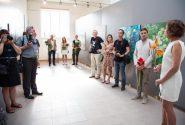 Открытие выставки международного пленера «Валдис Буш 2017» 3