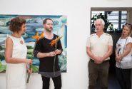 "Opening of the International Plein Air ""Valdis Bušs 2017"" exhibition 6"