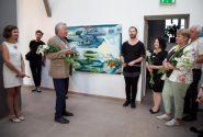 Открытие выставки международного пленера «Валдис Буш 2017» 13