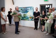 "Opening of the International Plein Air ""Valdis Bušs 2017"" exhibition 13"