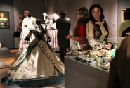 "Alexandre Vassiliev exhibition ""Charm of the Victorian fashion"" opening 8"