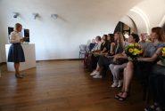 Rotko centrā atzīmēja mākslinieka Marka Rotko 115 gadu jubileju 12