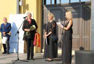 Rotko centrā atzīmēja mākslinieka Marka Rotko 115 gadu jubileju 17