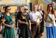 Rotko centrā atzīmēja mākslinieka Marka Rotko 115 gadu jubileju 24