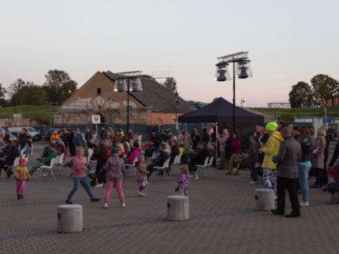 Концерт Дианы Пашко во дворе центра Ротко 10